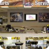 Ontrac Parts and Service screen