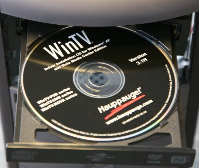 WinTv Driver CD